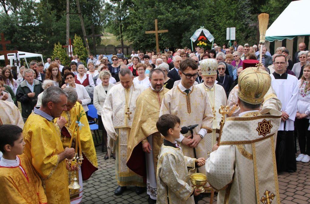 Uroczystość Świętych Apostołów Piotra i Pawła w Chrzanowie k. Ełku.