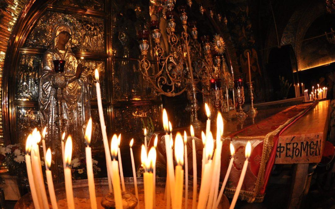 Niedziela adoracji Krzyża Świętego.